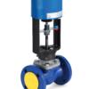 Клапан запорно-регулирующий КПСР серии 110, управление 4-20мА, 0-10В или 3-х позиционное 32, трёхпозиционное, привод ES 05-11
