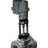 Клапан запорно-регулирующий КПСР серии 210 (25с947нж) седельный фланцевый с ЭИМ Regada PN 4,0 МПа 200