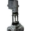 Клапан запорно-регулирующий КПСР серии 210 (25с947нж) седельный фланцевый с ЭИМ Regada PN 4,0 МПа 300