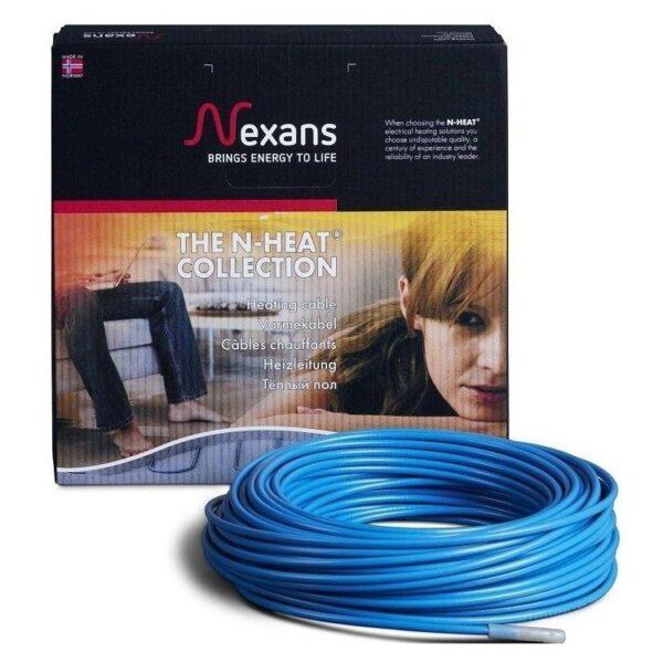 Комплект двухжильного нагревательного кабеля с алюминиевым экраном TXLP/2R 200/17 (11.7 п.м.)