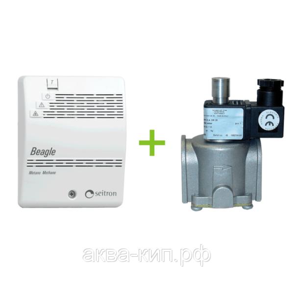 Комплект контроля загазованности на сжиженный газ RGDGP5MP1 Beagle с электромагнитным клапаном