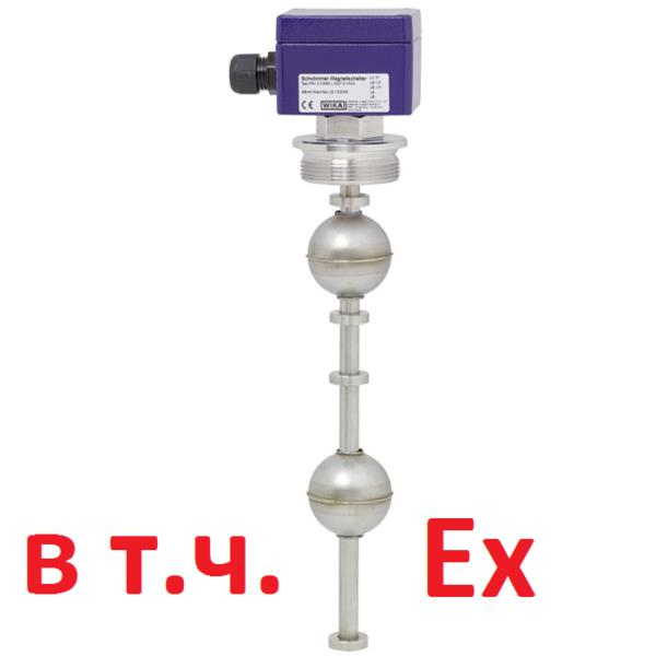 Магнитный поплавковый переключатель Модель FLS (WIKA)