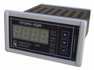 Напоромер электронный многодиапазонный ПРОМА-ИДМ-016 (выход 4 реле, 4-20Ма, RS-485)