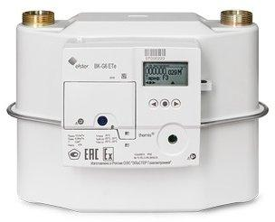 Счетчик газа BK G6ETe (встроенный GPRS модем; эл. компенсация по температуре, архивирование показани