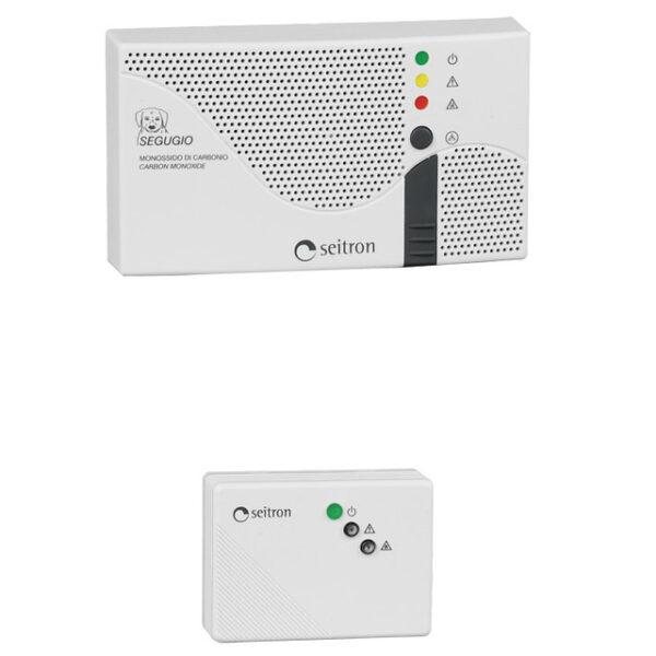 Сигнализатор горючих и токсичных газов (CO+CH4) RGDCO0MP1 с сенсором SGAMET. Seitron (Италия).