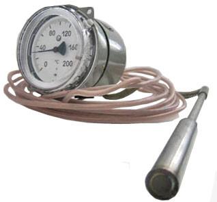 Термометр электроконтактный манометрический ТГП-100ЭК-М1, ТКП-100ЭК-М1