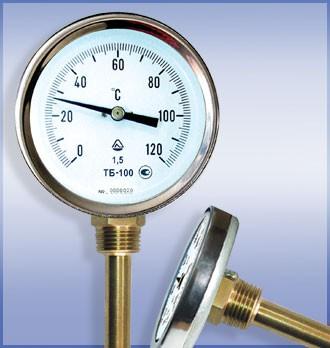 Термометры биметаллические ТБ-100