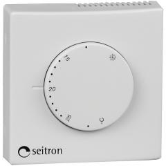 Термостат TAM011MI электромеханический комнатный (+8+30С) Seitron, Италия