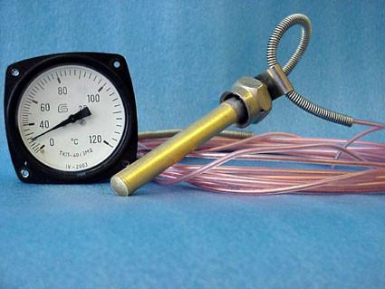 ТКП-60/3м2 термометр манометрический показывающий виброустойчивый 10