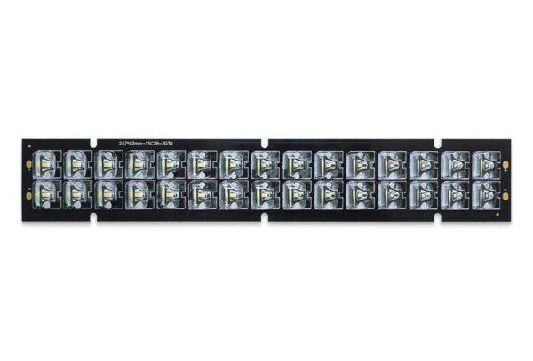 Уличный светодиодный модуль с вторичной оптикой Brillare SMD3030 (L*30)