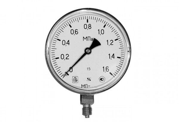 Манометр избыточного давления МТ-100 (Ру-0.6 МПа, М20х1.5)