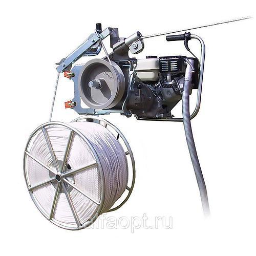 Моторизированная лебедка для раскатки СИП (LM 2060) с троссом