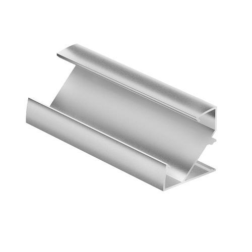 Профиль для светодиодной ленты Geniled (Угловой широкий; 33×33×2000; М28)