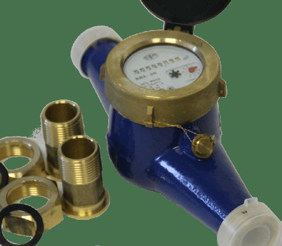 Счетчик воды ВДХ (с присоед.) многоструйный (Ду25)