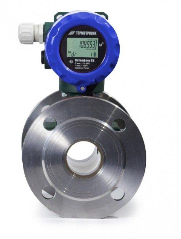 Счётчик автономный электромагнитный Питерфлоу СВ-80-100 (12 класс ±1%(1:160) ±3%(1:250); Ф1; IP67)
