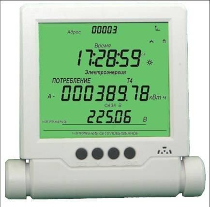 Удаленный дисплей FENIX для счетчиков электрической энергии